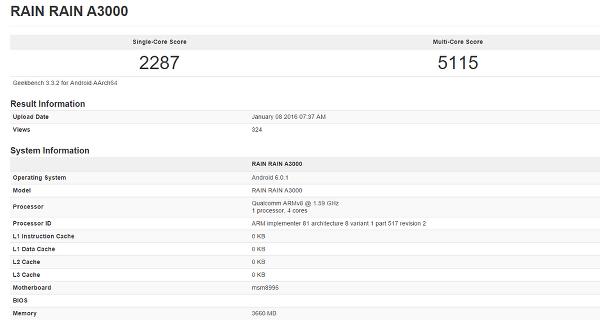 Snapdragon 820 Rev 2 benchmarklarda göründü