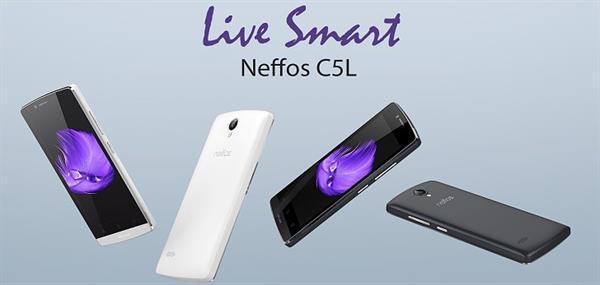 TP-Link, Neffos serisine ait ilk akıllı telefonları C5L, C5, ve C5 Max'ı tanıttı