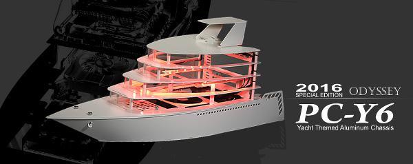 Lian Li'den yat tasarımlı bilgisayar kasası