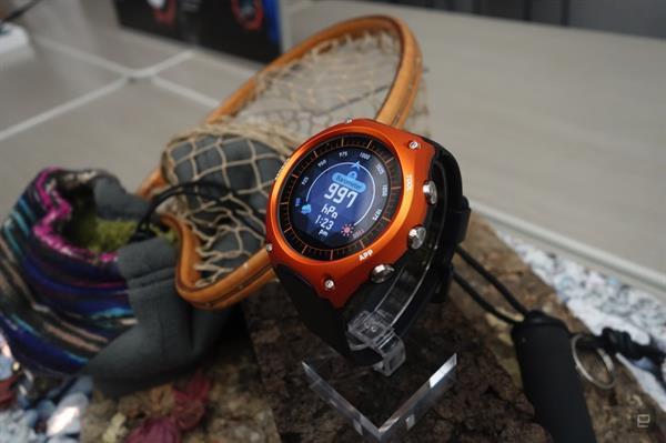 Casio'dan gerçek bir akıllı saat