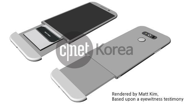 LG G5, ilginç bir kapak tasarımıyla gelebilir
