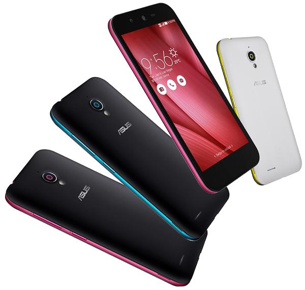 Asus'tan canlı renk seçeneklerine sahip Live akıllı telefon