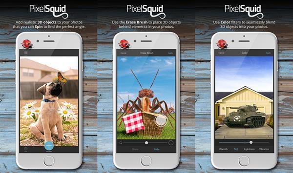 PixelSquid ile fotoğraflarınıza gerçekçi 3D objeler ekleyin