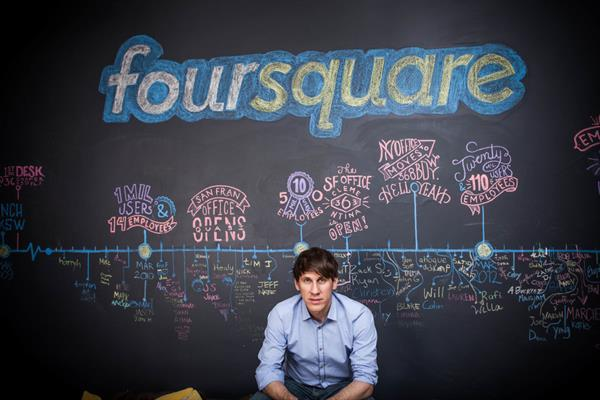 Foursquare yeni CEO'su ile artık para kazanmak istiyor