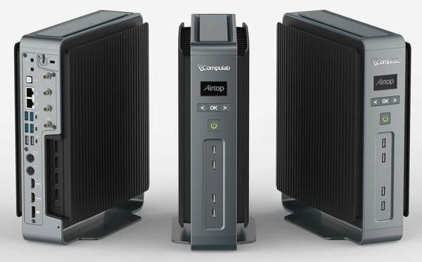 Compulab Airtop: 200Watt güç tüketen fansız bilgisayar sistemi