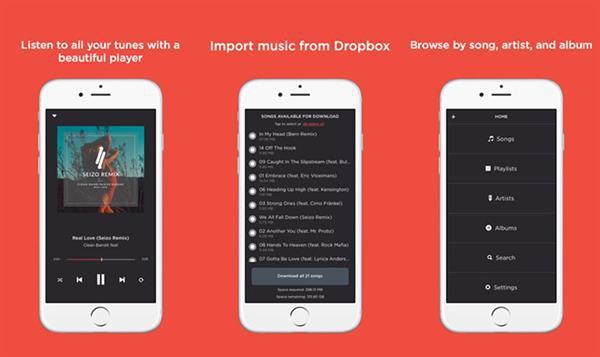 Dropbox için çevrimdışı müzik uygulaması: Jukebox