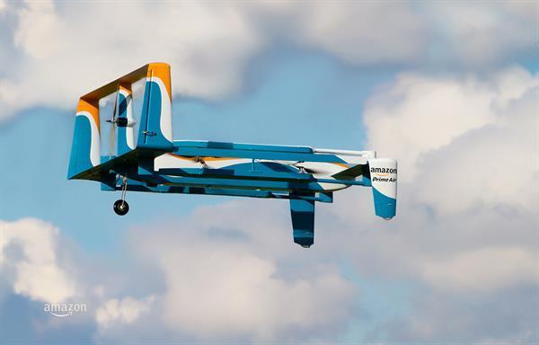 Amazon, drone ile teslimatlara başlayan ilk şirket olmayı planlıyor