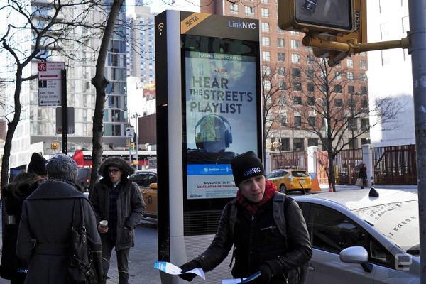 New York sokaklarında 300Mbps yükleme hızları