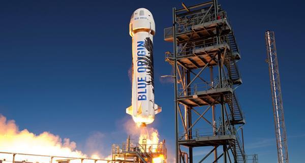 Blue Origin aynı roketi ikinci kez uzaya fırlatarak bir ilke imza attı
