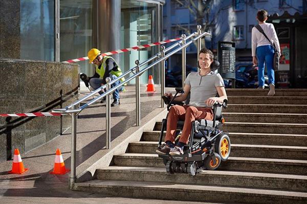 Engel tanımayan tekerlekli sandalye