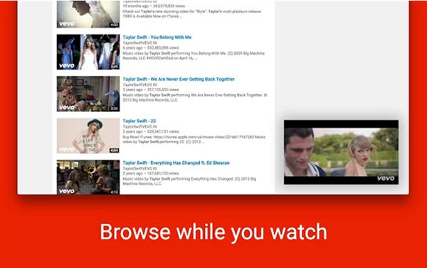 YouTube'a