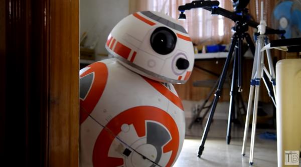 120 Dolara kendi BB-8 robotunuzu yapmak ister misiniz?
