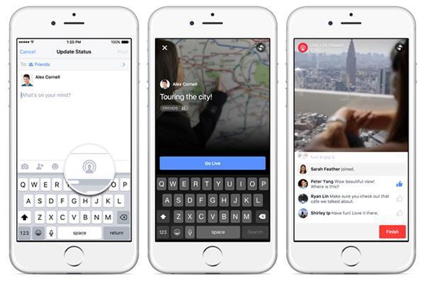 Facebook'un canlı yayın özelliği tüm Amerika'da kullanıma açıldı