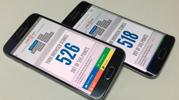 Samsung'un yeni mobil tarayıcısı, testlerde gövde gösterisi yapıyor