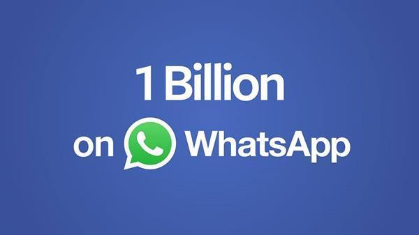 WhatsApp'ın aylık aktif kullanıcı sayısı 1 Milyarı aştı