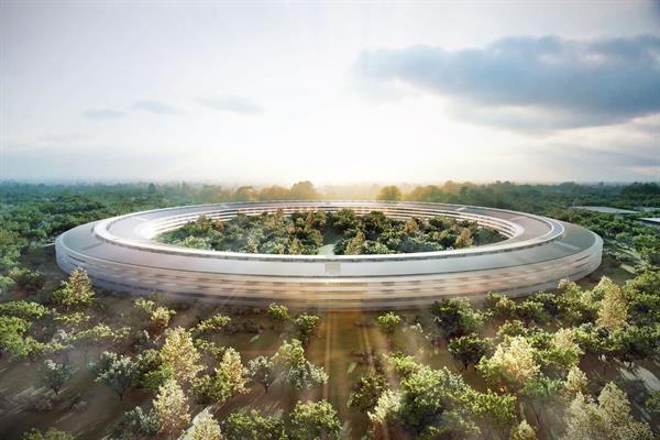 Apple Campus 2 hakkında bilinmeyenler ve drone ile yakın bakış