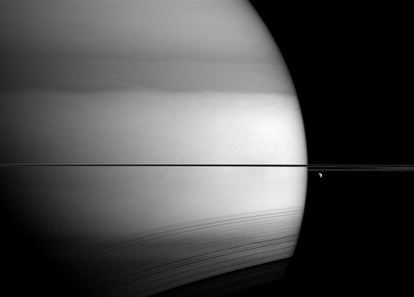 Cassini uzay aracından muhteşem Satürn fotoğrafı