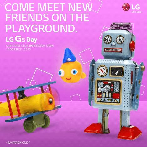 LG G5, 21 Şubat'ta geliyor