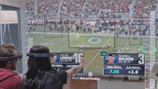 Microsoft, HoloLens ve spor müsabakalarını bir araya getiren reklam filmini yayınladı