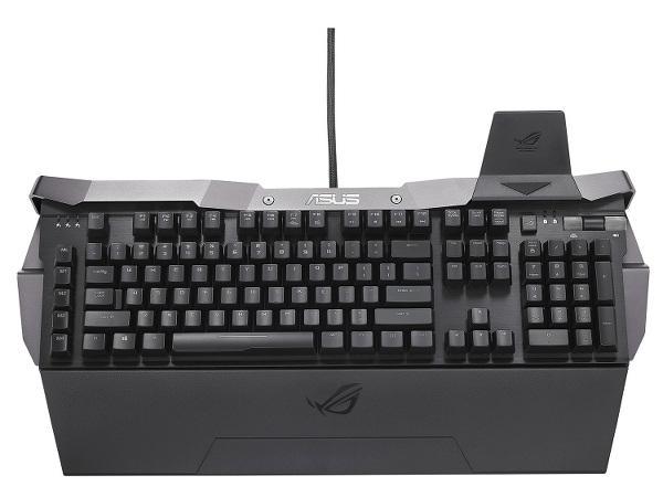 Asus'dan oyunculara yönelik yeni mekanik klavye