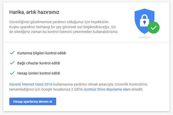 Google Drive'dan herkese 2 GB ücretsiz depolama alanı