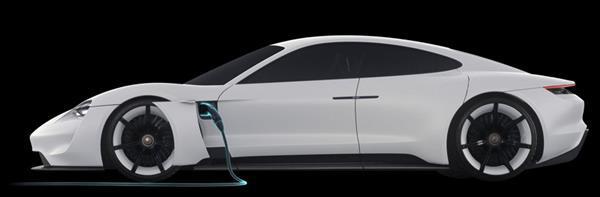 Tesla Model S'in Alman rakibi Porsche Mission E'de detaylar netleşiyor