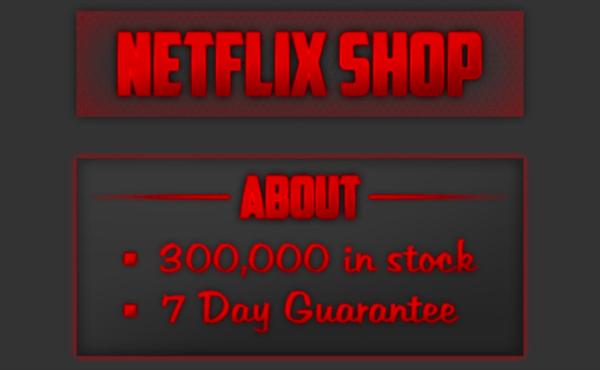 Netflix hesapları karaborsada 0.25 dolardan satılıyor