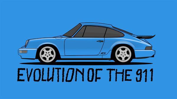 Yarım asırlık Porsche 911'in 70 saniyelik evrimi
