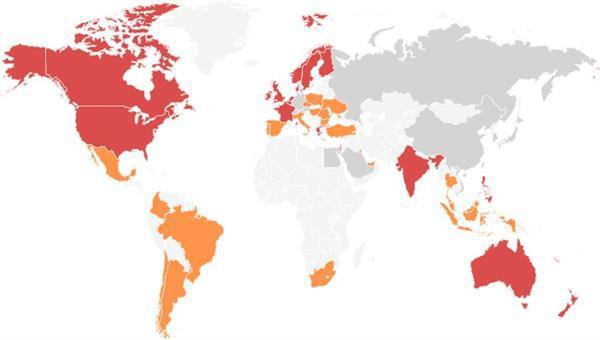BBC, çöpçatan uygulamalarının ülkelere göre dağılımını açıkladı