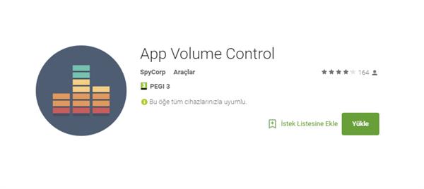 App Volume Control ile her uygulama için özel ses seviyesi belirleyin
