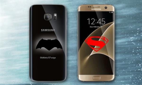 Samsung'dan Batman v Superman filmine özel Galaxy S7 Edge