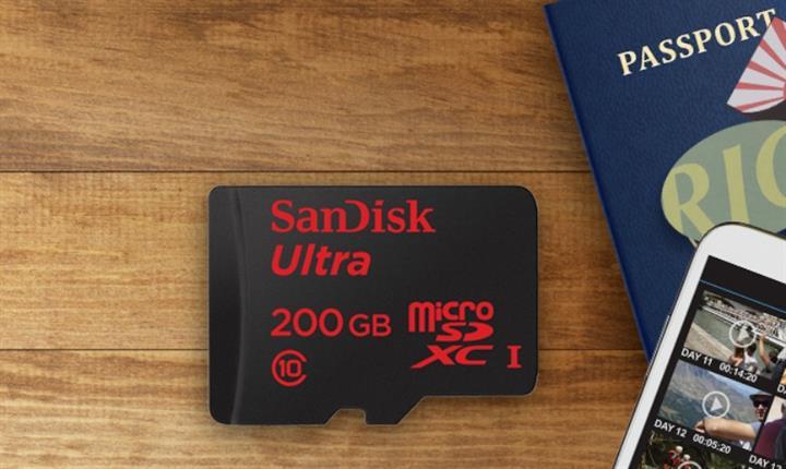 90 Dolar'a 200GB kapasiteli micro SD hafıza kartı