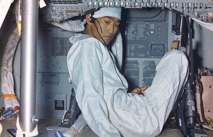 Uzayda yaşam: Apollo 11'den daha önce hiç görmediğiniz fotoğraflar