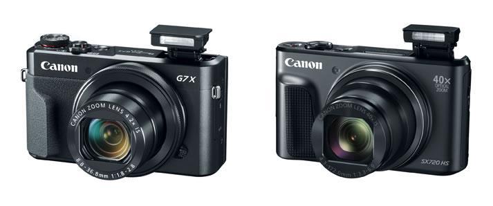 Canon, Powershot G7 X Mark II ve PowerShot SX720 HS modellerini tanıttı