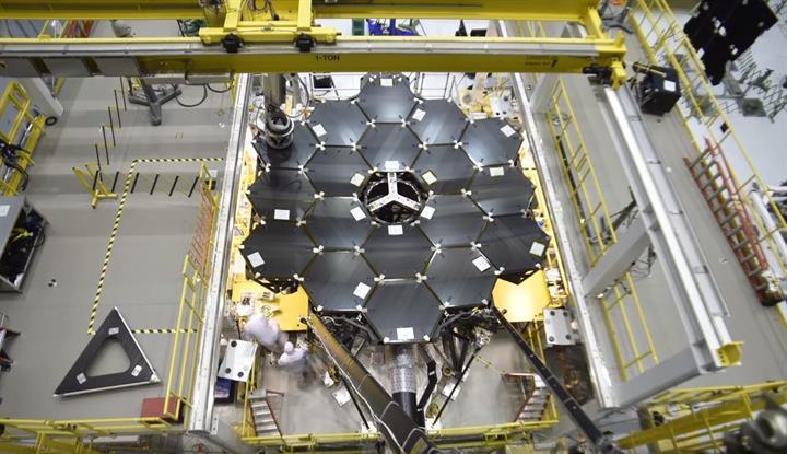 James Webb Uzay Teleskobu'nun yapımından büyüleyici Time-Lapse video
