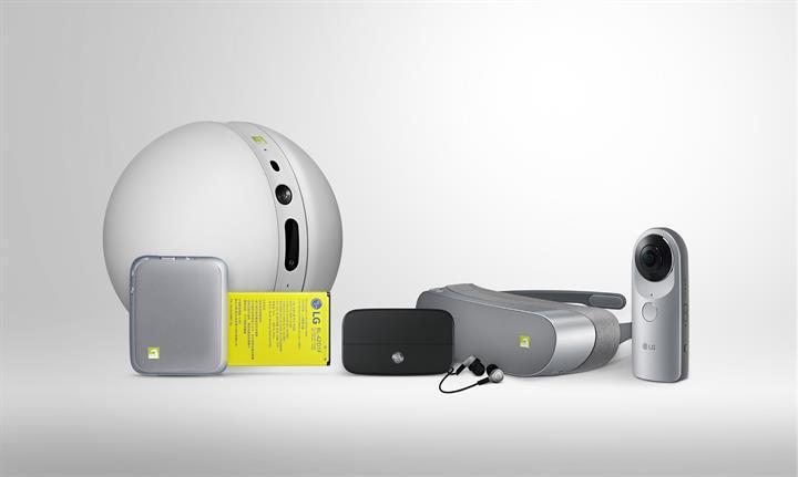 Tanıtım videosu ile LG G5'in aksesuar ve özelliklerine yakından bakın