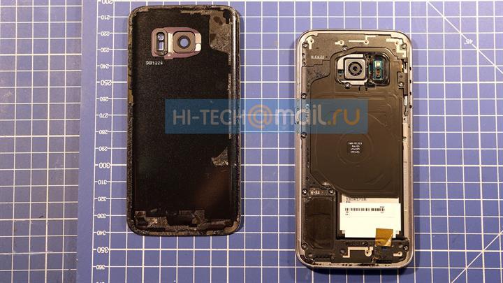 Sıvı soğutma teknolojili Samsung Galaxy S7 parçalarına ayrıldı