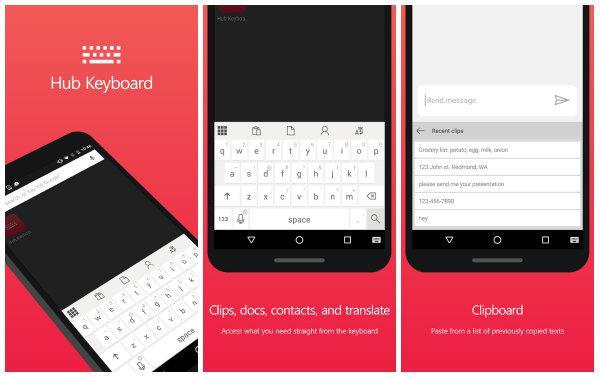 Microsoft'tan Android'e klavye hediyesi
