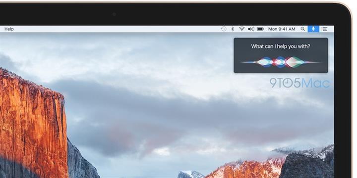 Siri, Mac'lerin Menu çubuğuna yerleşmeye hazırlanıyor