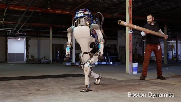 Boston Dynamics'in son insansı robotu hayranlık uyandırıyor
