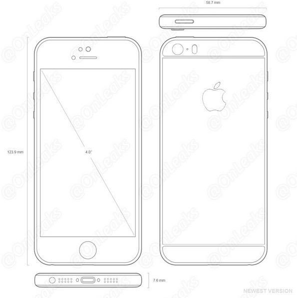 Sızdırılan iPhone 5se şemaları, tanıdık bir tasarıma işaret ediyor