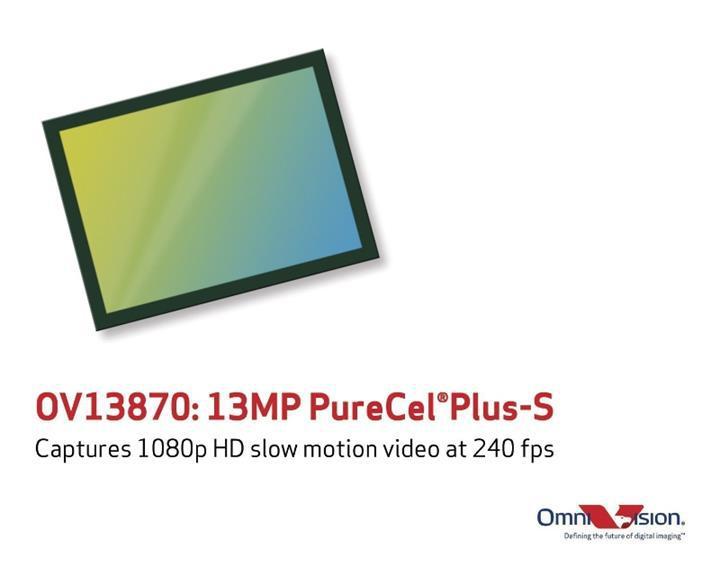 Omnivision yeni 13MP PureCel Plus-S kamera sensörünü duyurdu