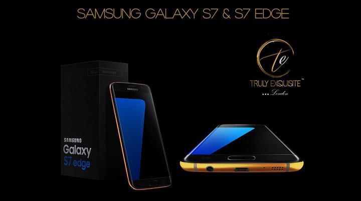 Altın kaplama Samsung Galaxy S7 ön siparişe açıldı