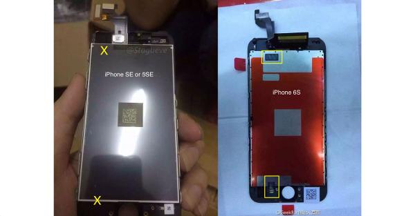 iPhone SE ekran modülü internete sızdırıldı