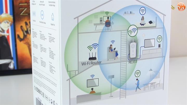 'Evden eve kablosuz internet keyfi' TP-Link AC1200 RE355 menzil genişletici inceleme videosu