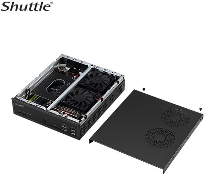 Shuttle'dan Skylake tabanlı ince profil kasalar