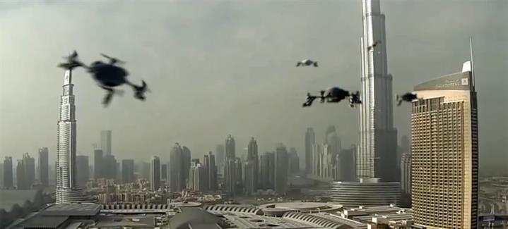 Dubai'de 1 milyon dolar ödüllü drone yarışları yapılacak