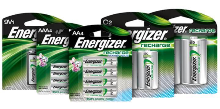 Energizer şarjlı pillerinde geri dönüştürülmüş materyaller kullanacak