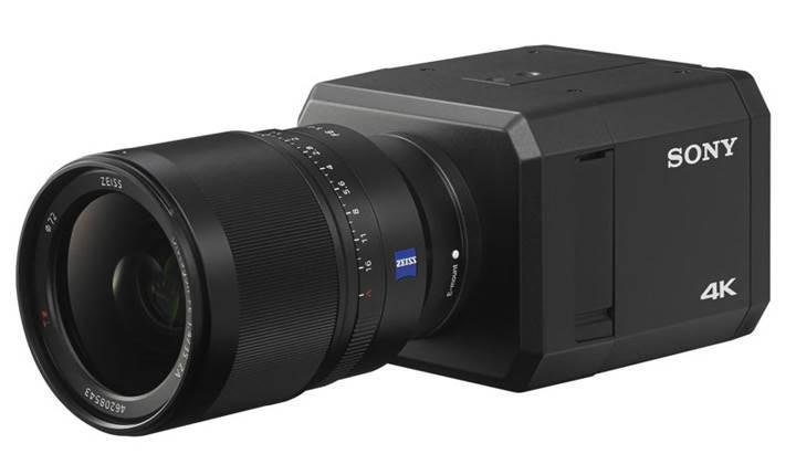 Sony'den değiştirilebilir lensli 4K güvenlik kamerası