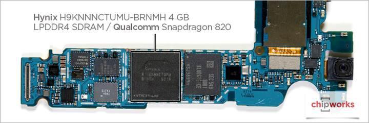 Samsung Galaxy S7 Edge bileşenleri detaylanıyor